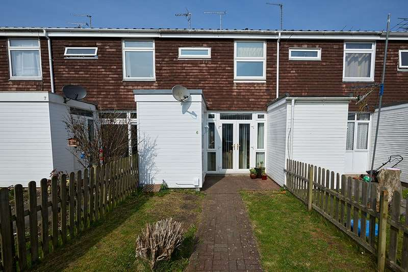 3 Bedrooms Terraced House for sale in Foreminster Court, Warminster, Wiltshire, BA12