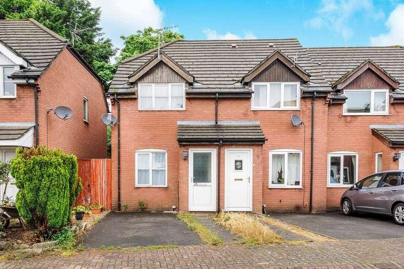 2 Bedrooms End Of Terrace House for sale in Haywain Court, Bridgend