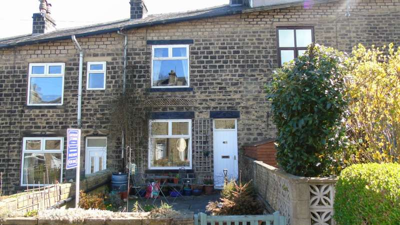 2 Bedrooms Terraced House for sale in Cleveley Gardens Mytholmroyd Hebden Bridge
