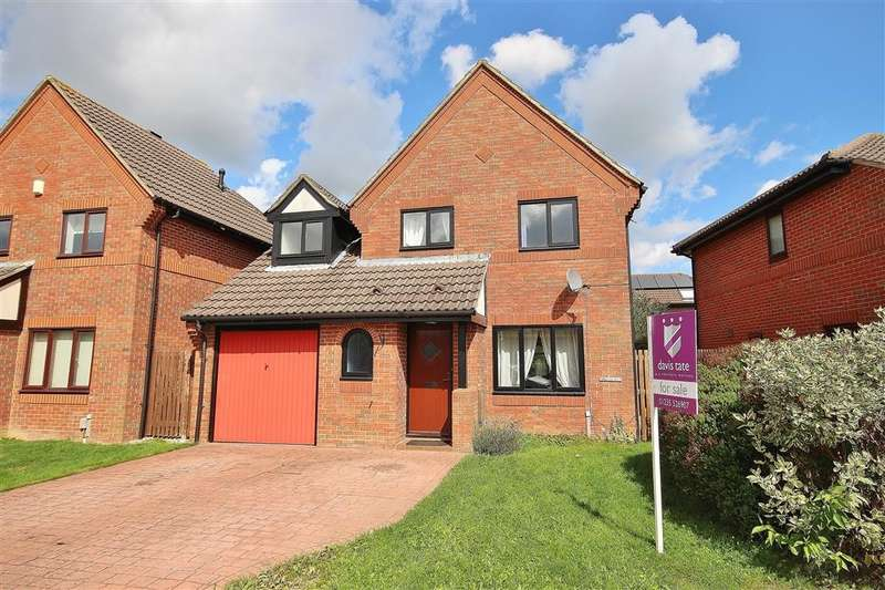 4 Bedrooms Detached House for sale in Knollys Close, Abingdon-on-Thames, OX14
