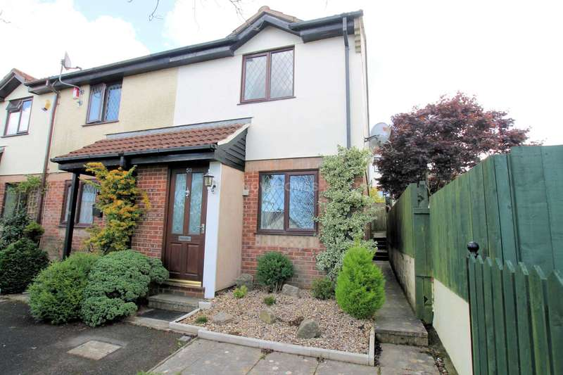 2 Bedrooms End Of Terrace House for sale in Redwood Drive, Plymouth, PL7 2FS