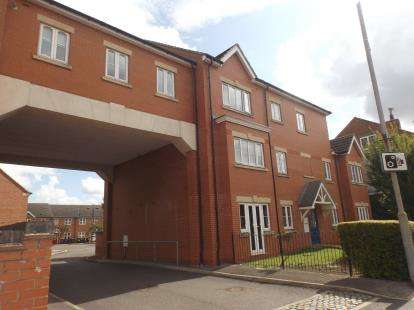 2 Bedrooms Flat for sale in Dukes Court, Portland Road, Hucknall, Nottingham