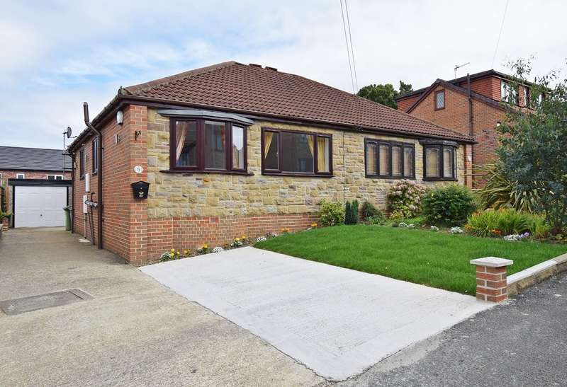 3 Bedrooms Semi Detached Bungalow for sale in Hollin Drive, Durkar, Wakefield