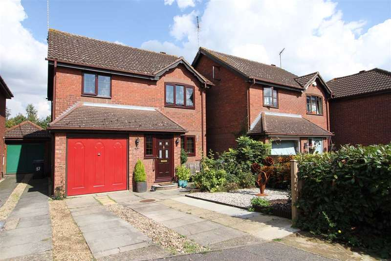 3 Bedrooms Detached House for sale in Pearsons Way, Copdock