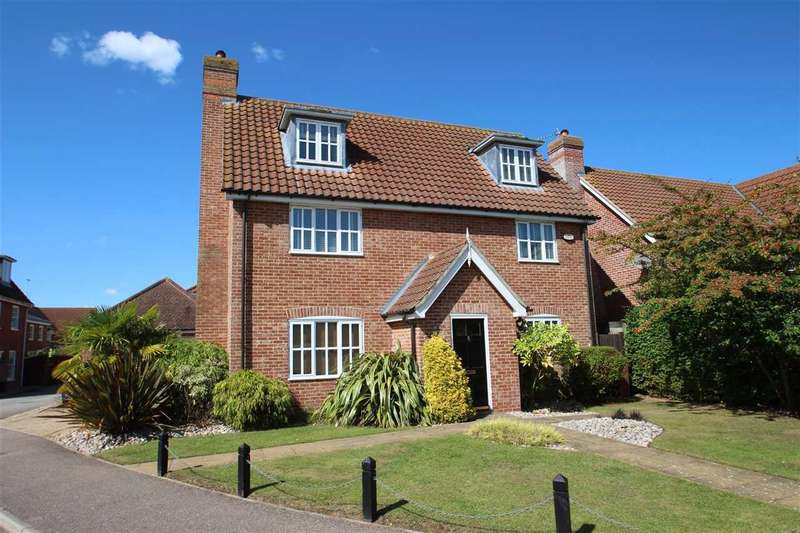 5 Bedrooms Detached House for sale in Curtis Way, Grange Farm, Kesgrave, Ipswich