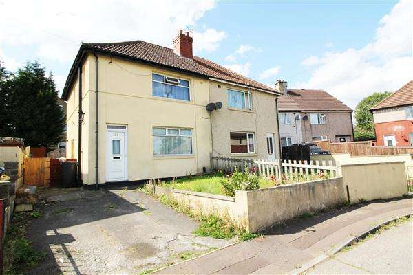 3 Bedrooms Semi Detached House for sale in Forest Green, Illingworth, Halifax