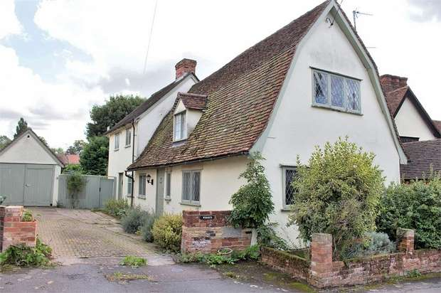 3 Bedrooms Detached House for sale in Finchingfield, Braintree, Essex