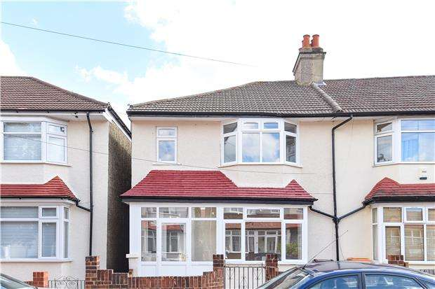 3 Bedrooms End Of Terrace House for sale in Lammas Avenue, MITCHAM, Surrey, CR4