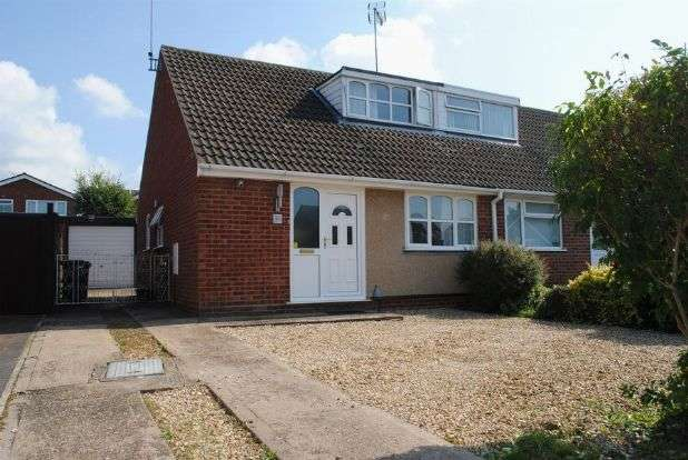3 Bedrooms Semi Detached House for sale in Reynard Way, Kingsthorpe, Northampton NN2 8QS