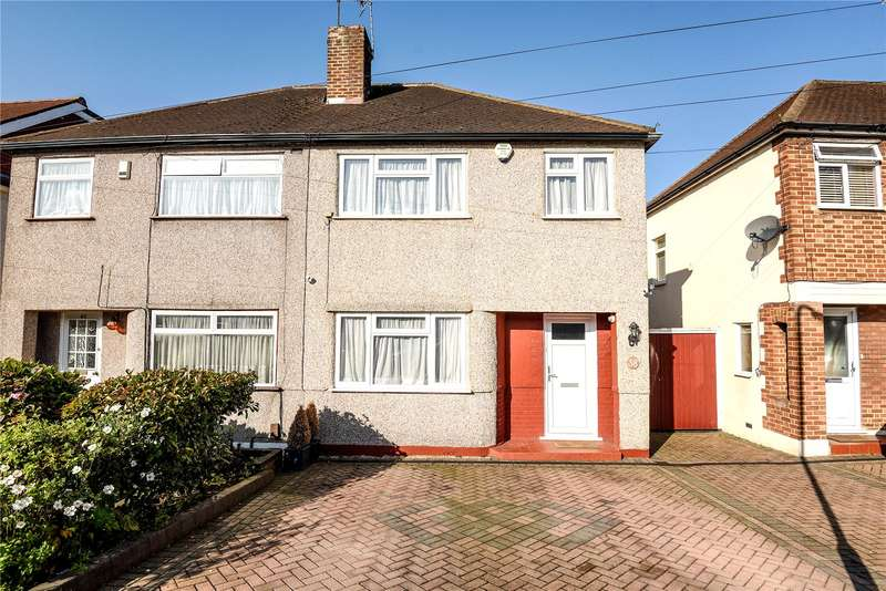 3 Bedrooms Semi Detached House for sale in Parkfield Crescent, Ruislip, Middlesex, HA4