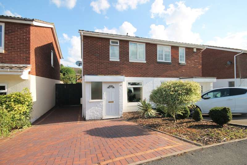 2 Bedrooms Semi Detached House for sale in Deltic, Tamworth b77 2du