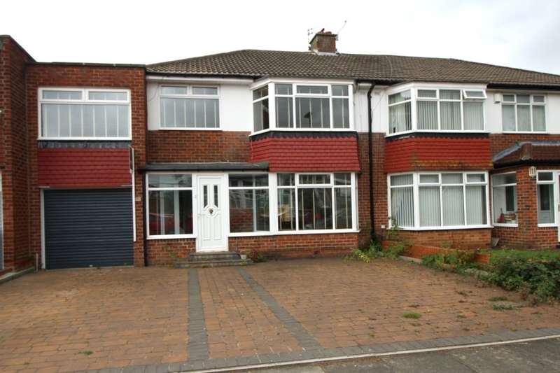 4 Bedrooms Semi Detached House for rent in Montagu Avenue, Newcastle Upon Tyne, NE3