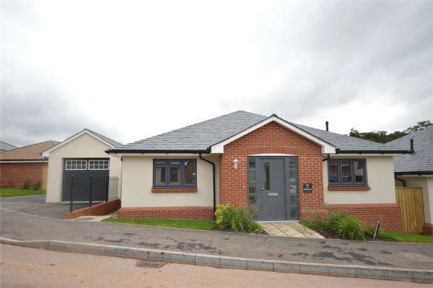 3 Bedrooms Detached Bungalow for sale in Plot 3 Moonhill Copse, West Clyst, Exeter, Devon