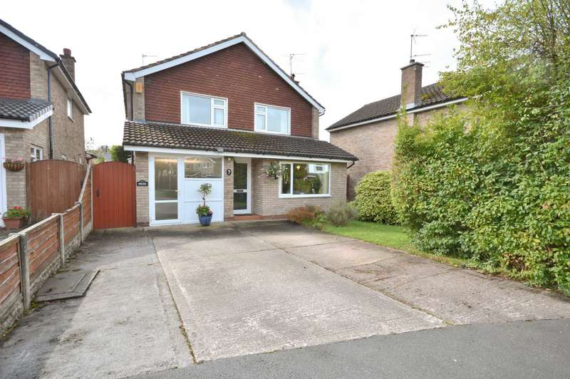 4 Bedrooms Detached House for sale in WENTWORTH DRIVE, Bramhalll