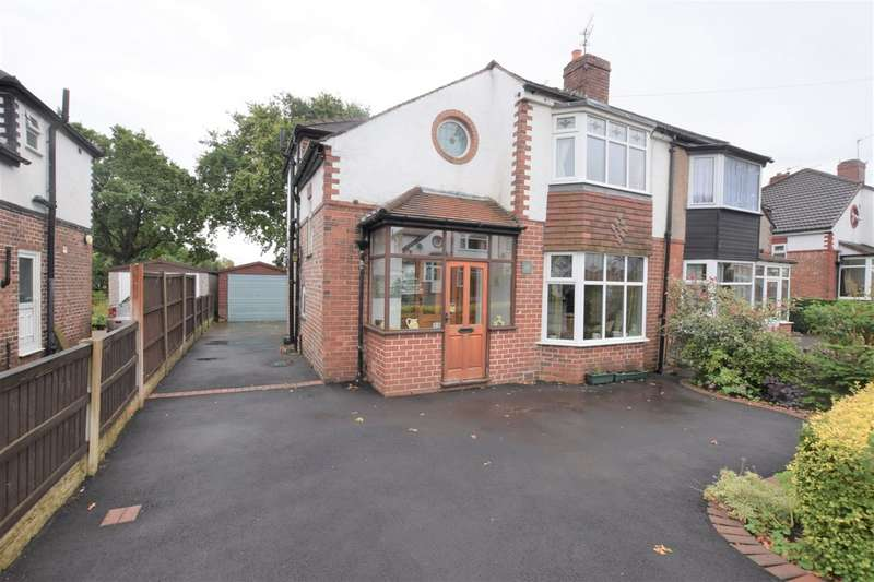 3 Bedrooms Semi Detached House for sale in Buckingham Road, Cheadle Hulme