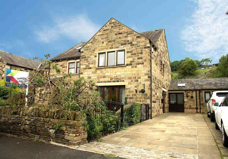 3 Bedrooms Semi Detached House for sale in Corbett Way, Denshaw, Saddleworth