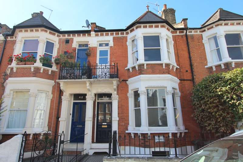3 Bedrooms Flat for sale in Whittingstall Road, London, London, SW6