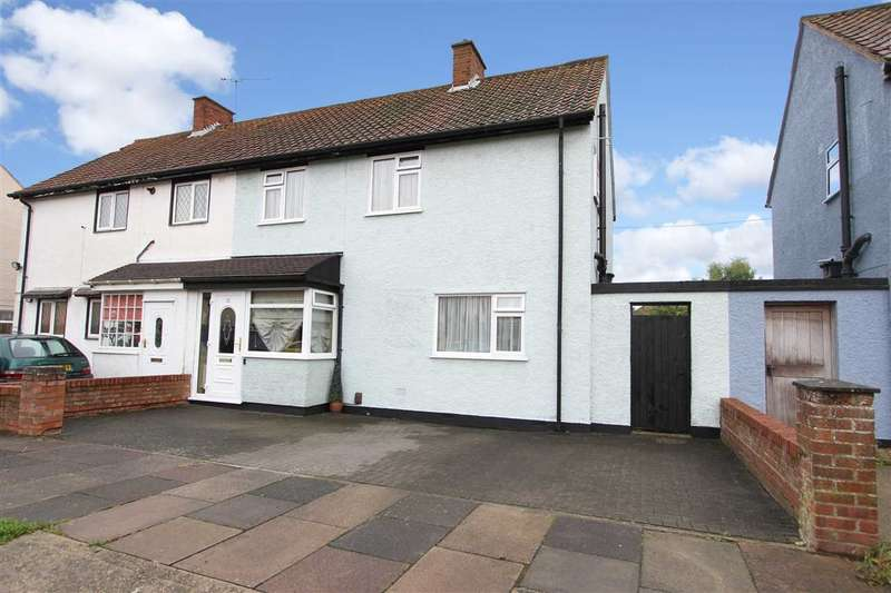 3 Bedrooms Semi Detached House for sale in Caithness Close, Ipswich