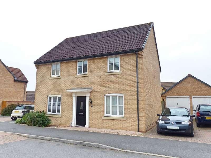 4 Bedrooms Detached House for sale in Ruster Way, Hampton Hargate, Peterborough, Cambridgeshire. PE7 8HL