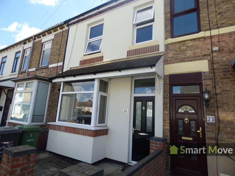 3 Bedrooms Terraced House for sale in St. Margarets Road, Peterborough, Cambs. PE2 9EA