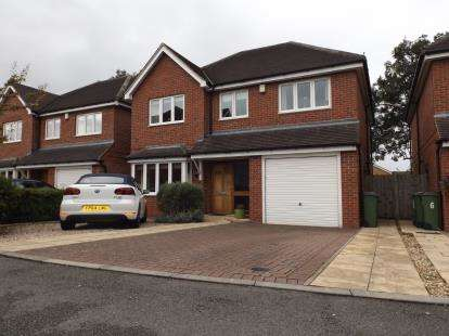 4 Bedrooms Detached House for sale in Milton Gardens, Narborough, Leicester, Leicestershire