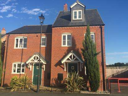 3 Bedrooms Semi Detached House for sale in Stryd Y Wennol, Ruthin, Denbighshire, LL15