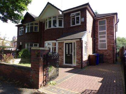 4 Bedrooms Semi Detached House for sale in Kingsbrook Road, Whalley Range, Manchester, Greater Manchester