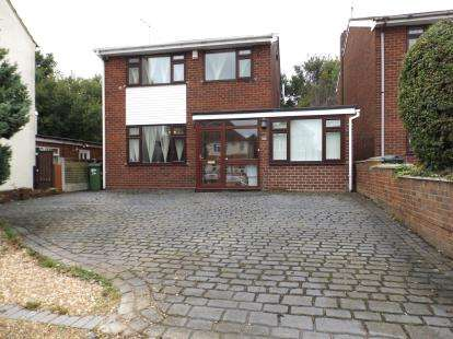 3 Bedrooms Detached House for sale in Pooles Lane, Willenhall, West Midlands