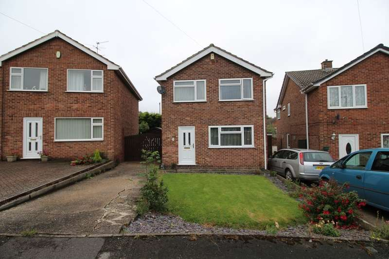 3 Bedrooms Detached House for sale in Dawson Close, Newthorpe, Nottingham, NG16
