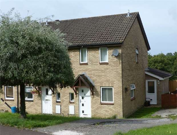 2 Bedrooms Semi Detached House for sale in The Spinney, Brackla, Bridgend, Mid Glamorgan