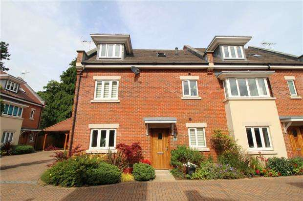4 Bedrooms Town House for sale in Branksome Park, Poole, Dorset, BH13