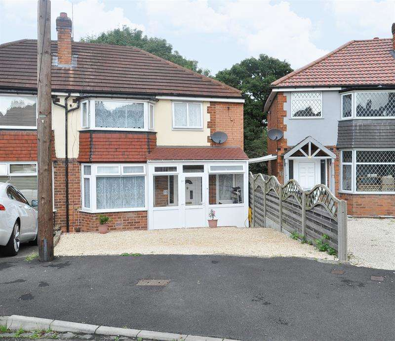 4 Bedrooms Semi Detached House for sale in Dunster Close, Kings Norton, Birmingham