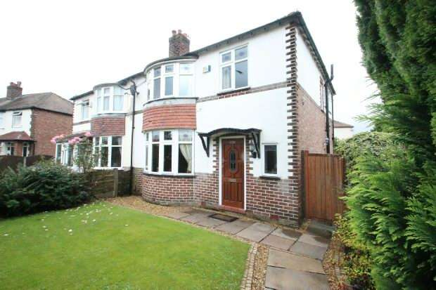 3 Bedrooms Semi Detached House for sale in Northenden Road, Sale