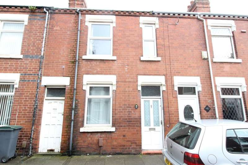 3 Bedrooms Property for sale in Taylor Street, Goldenhill, Stoke-On-Trent, ST6