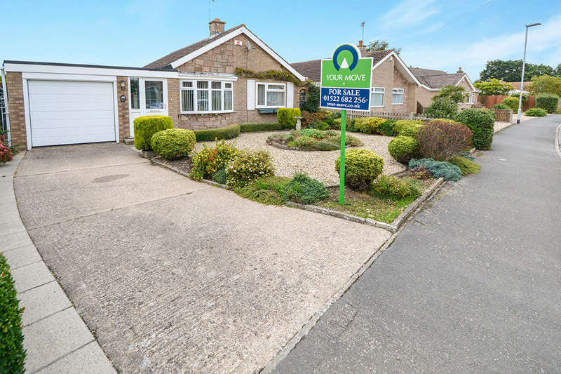 2 Bedrooms Detached Bungalow for sale in Hebden Moor Way, North Hykeham, Lincoln, LN6