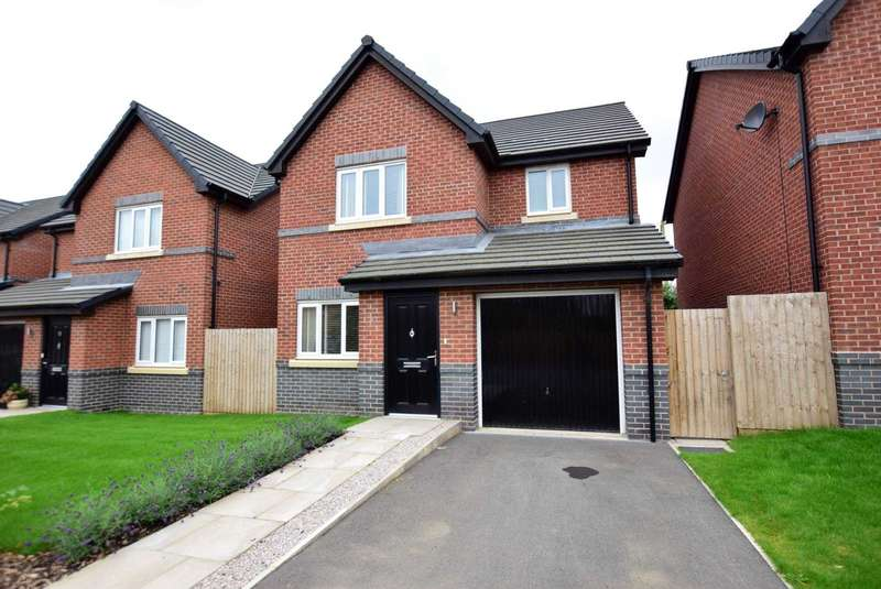 3 Bedrooms Detached House for sale in Riversleigh Way, Warton