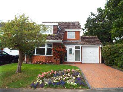 4 Bedrooms Detached House for sale in Stoke Lane, Church Hill North, Redditch, Worcestershire