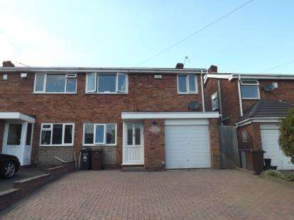 3 Bedrooms Semi Detached House for sale in Langley Hall Road, Solihull, West Midlands