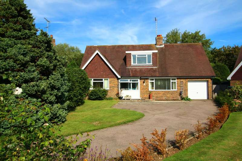 4 Bedrooms Detached House for sale in The Outlook, Friston, BN20 0AR