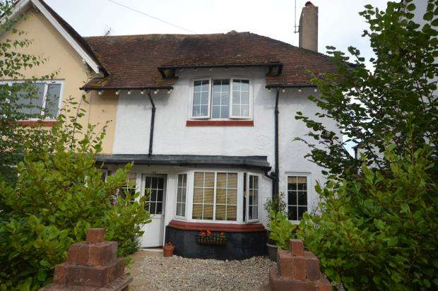 3 Bedrooms End Of Terrace House for sale in Temple Street, Sidmouth, Devon