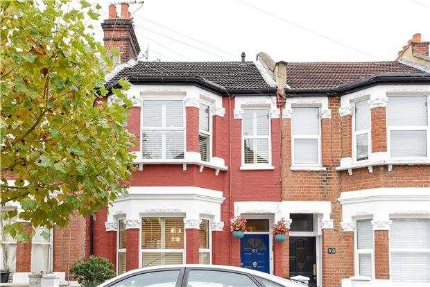 3 Bedrooms Terraced House for sale in Fallsbrook Road, LONDON, SW16 6DU