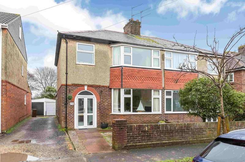 3 Bedrooms Semi Detached House for sale in Drayton, Hampshire