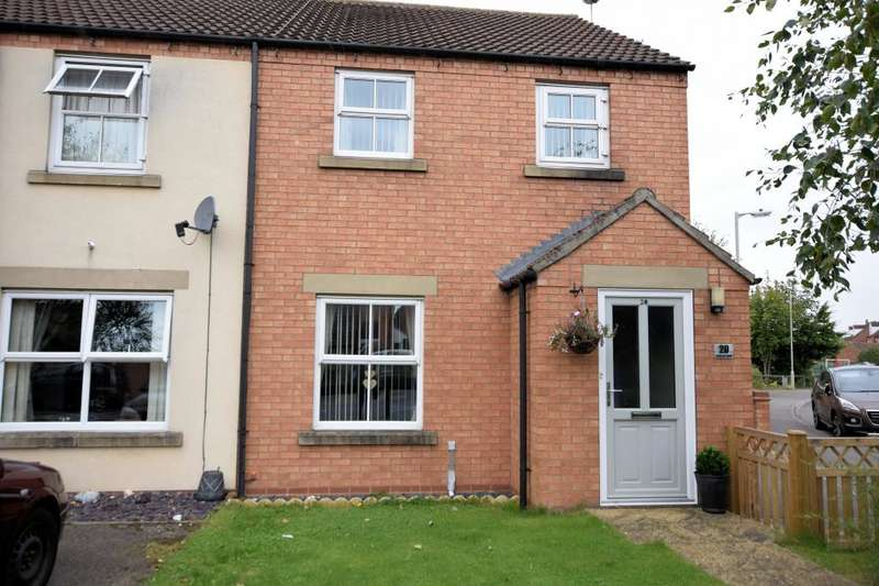 2 Bedrooms End Of Terrace House for sale in Hadrians Walk, Crossgates, Scarborough, North Yorkshire YO12 4LG