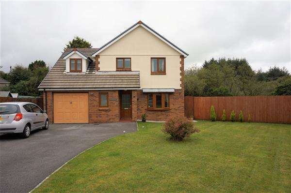 4 Bedrooms Detached House for sale in Waungoch, UPPER TUMBLE, Llanelli