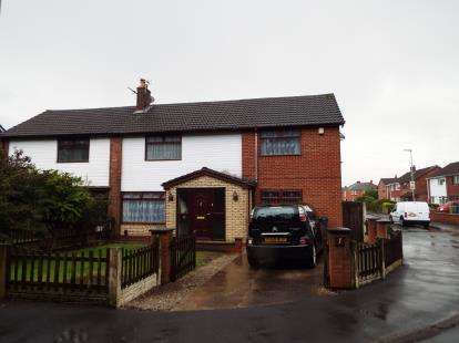 3 Bedrooms Semi Detached House for sale in Victoria Avenue, Bickershaw, Wigan, Greater Manchester