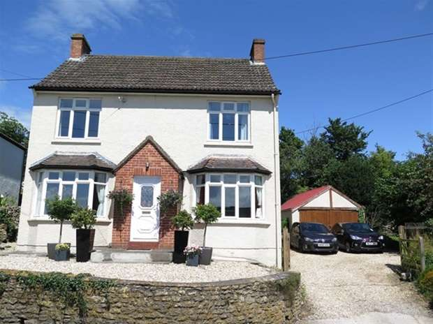 3 Bedrooms Detached House for sale in Stoke Road, Westbury Sub Mendip, Wells