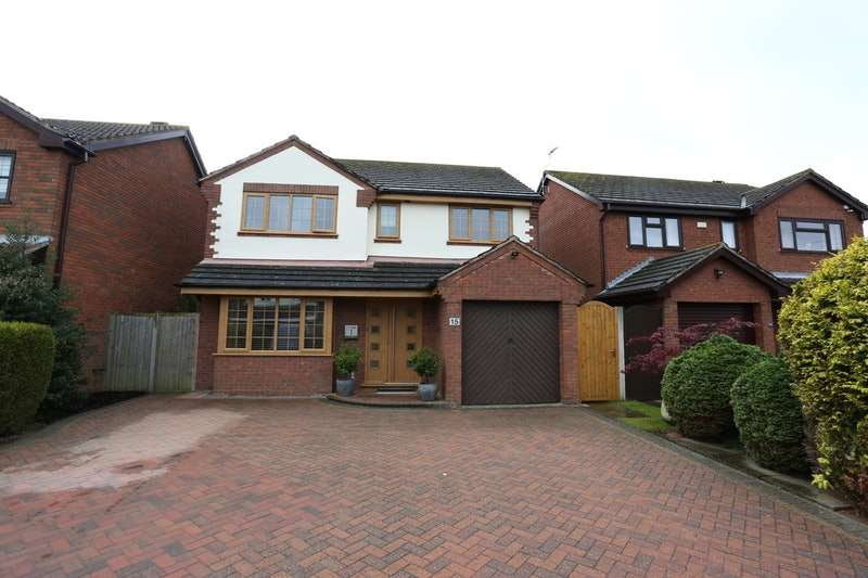 4 Bedrooms Detached House for sale in Fields Close, Badsey, Worcestershire, WR11