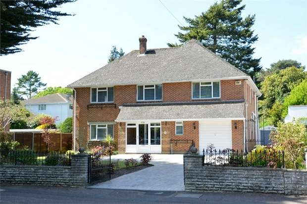 4 Bedrooms Detached House for sale in Clarendon Road, Westbourne, Bournemouth