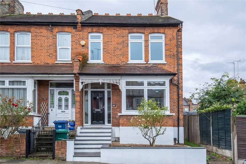 3 Bedrooms End Of Terrace House for sale in Park View Crescent, Friern Barnet, London, N11