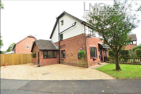 4 Bedrooms Semi Detached House for sale in Blenheim Gardens, Winsford